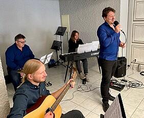 Eröffnung Außenstelle Kreismusikschule Musikgruppe