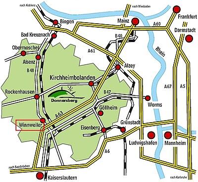 Verkehrsspinne Donnersbergkreis